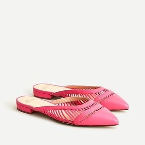 J. Crew | backless cage mule